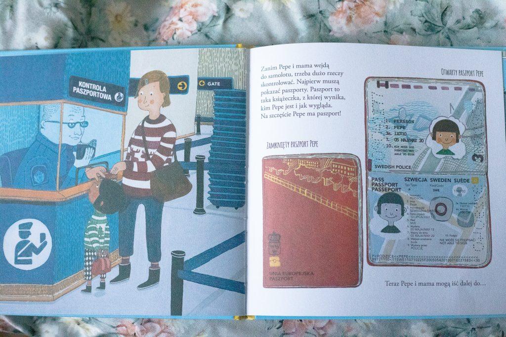 zdjęcie książki dla dzieci - Pepe leci samolotem