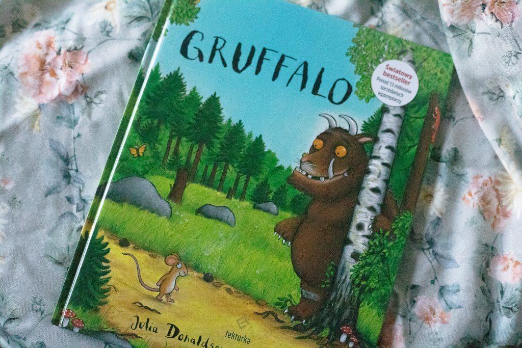 zdjęcie książki dla dzieci - Gruffalo