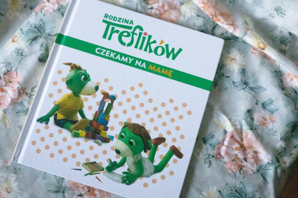 zdjęcie książki dla dzieci - Rodzina Treflików