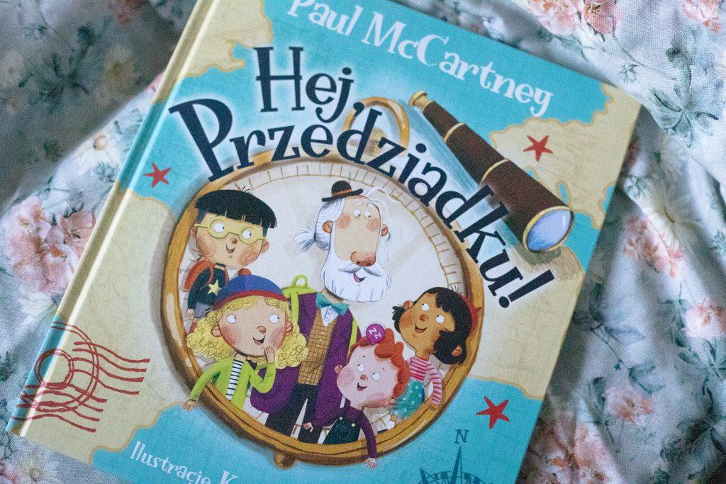 zdjęcie książki dla dzieci - Hej, Przedziadku!