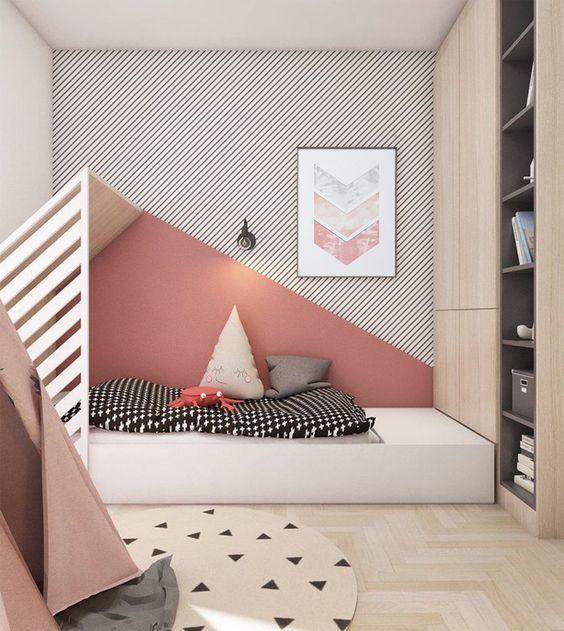 pokój dzieci - inspiracje jak malować ściany