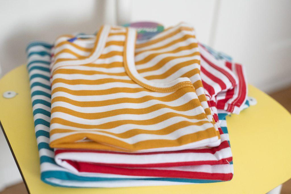 bluzka w paski dla dziecka