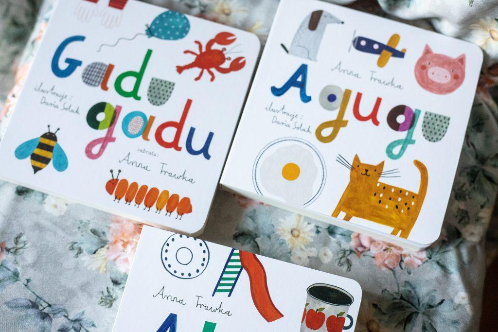 książki dla najmłodszych dzieci - seria Anny Trawki