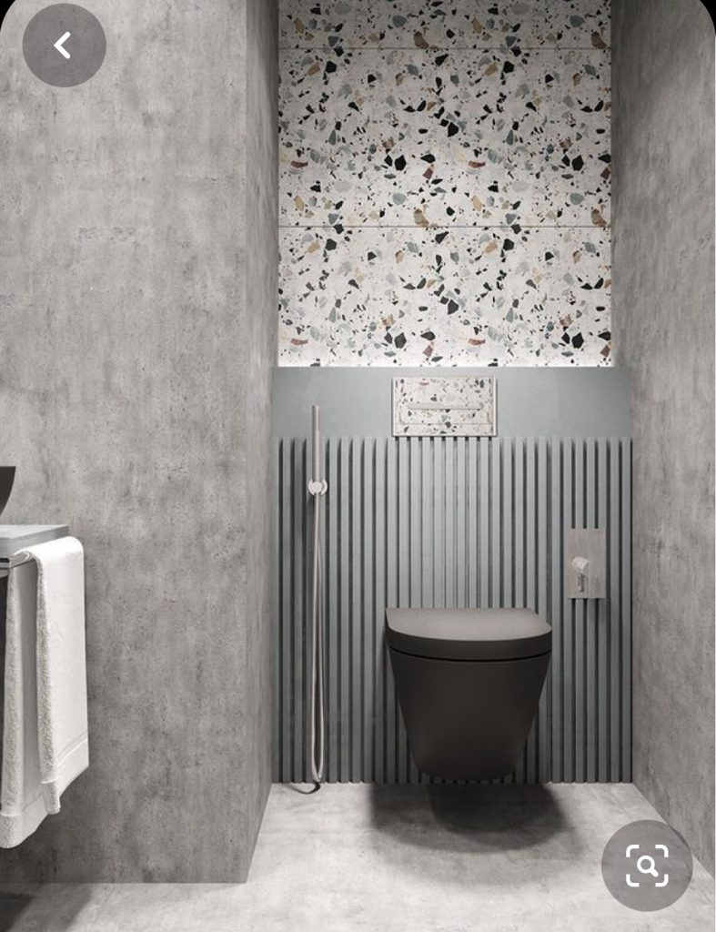 piękna toaleta - inspracje