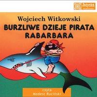 okładka audiobooka - dzieje pirata rabarbara