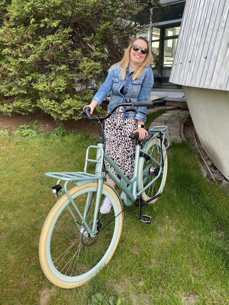 damka - rower holenderski