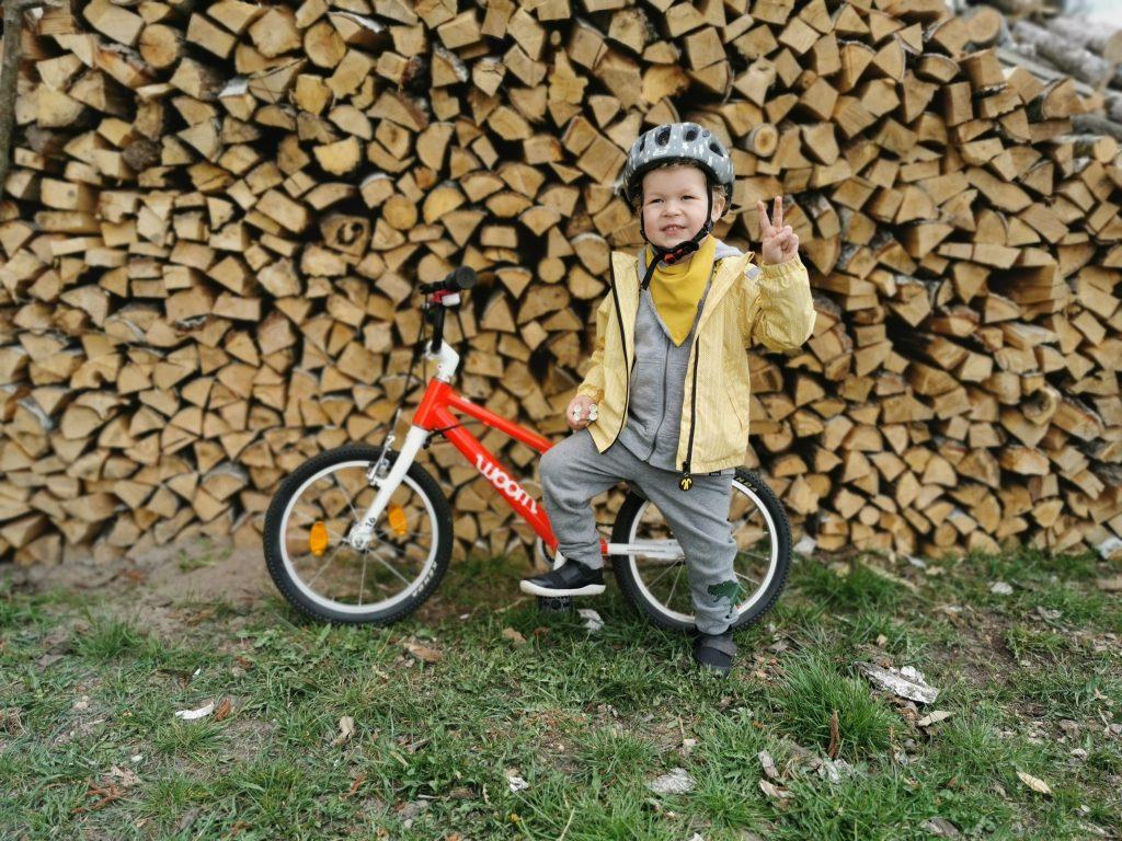 woom 3 - rower dla 5 latka