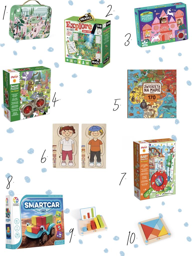 puzzle, układanki i gry dla 4 latka