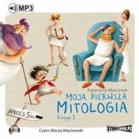 okładka audiobooka - moja pierwsza mitologia