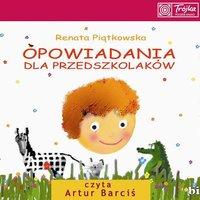 okładka audiobooka - opowiadania dla przedszkolaków