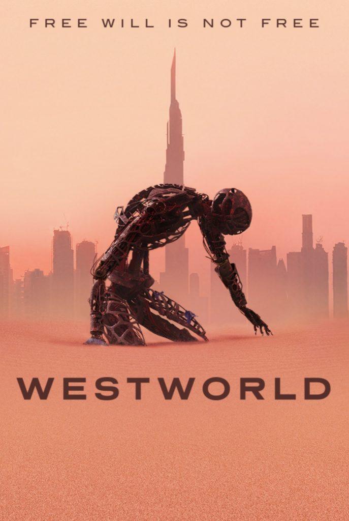 okładka serialu westworld - seriale HBO