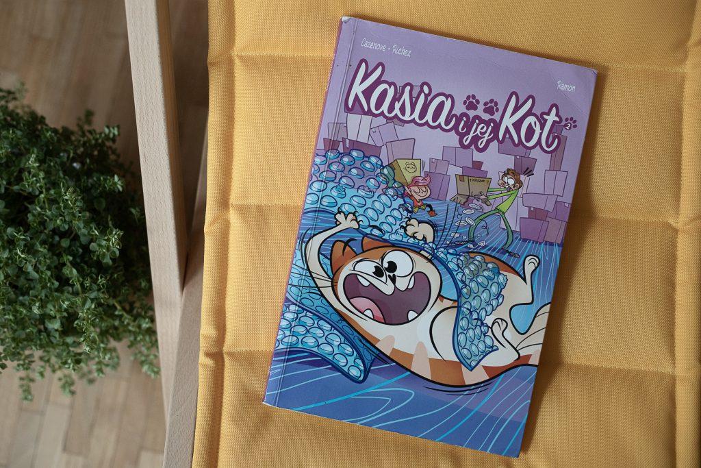 zdjęcie okładki - komiks dla dzieci - Kasia i jej Kot