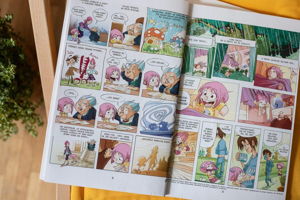 najlepsze komiksy - Ernest i Rebeka