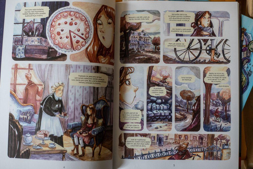 najlepsze komiksy - Śledztwa Enoli Holmes