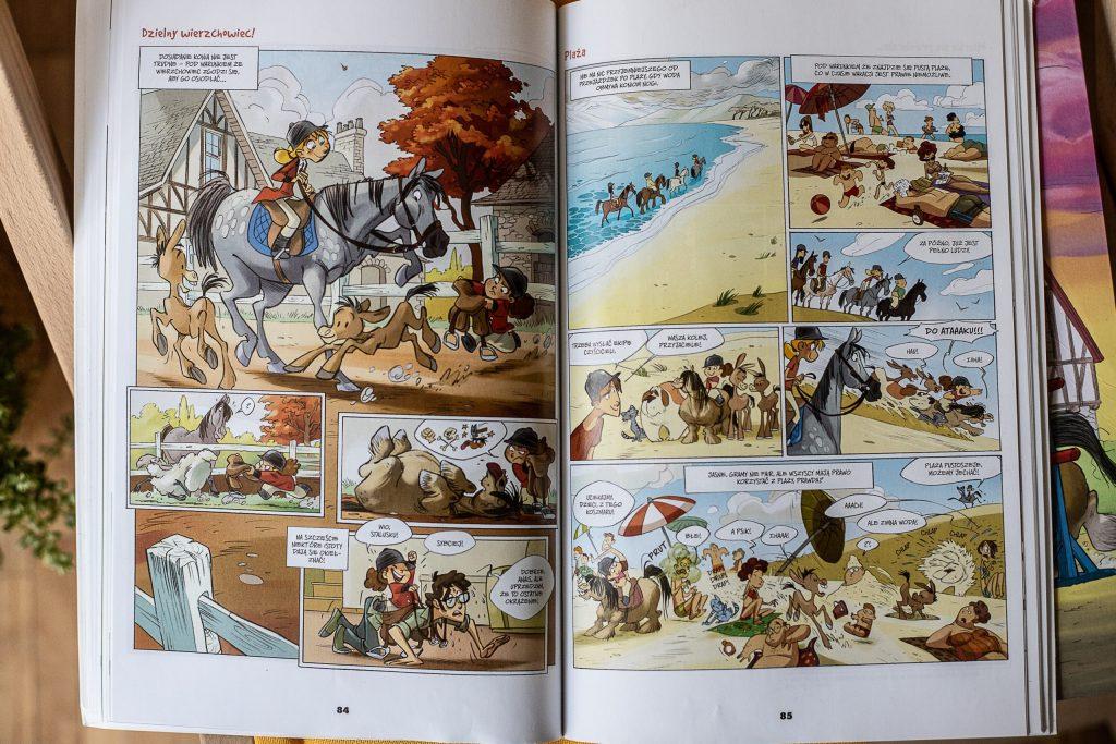 najlepsze komiksy - Kamila i konie