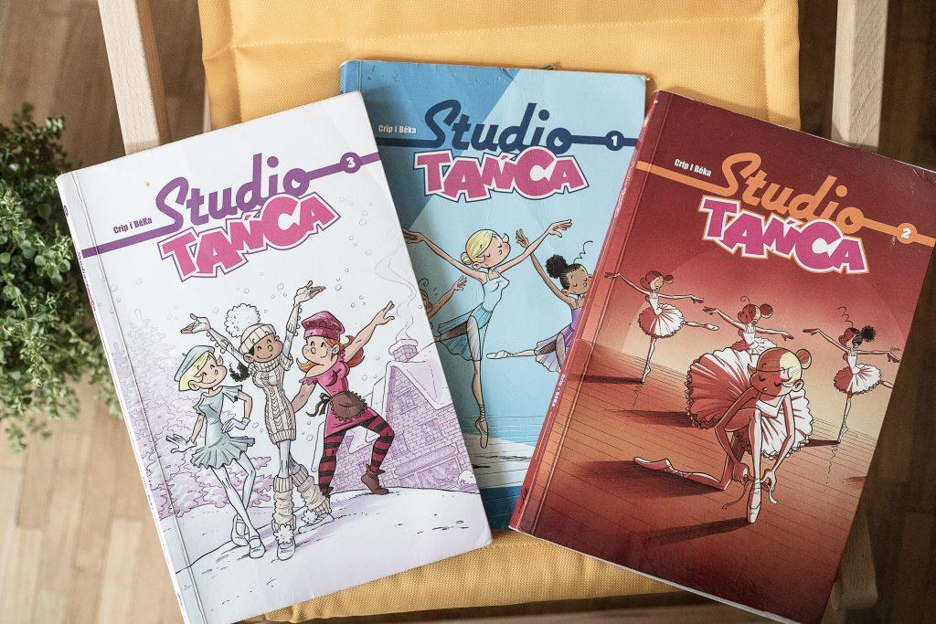 zdjęcie okładki - komiks dla dzieci - Studio tańca