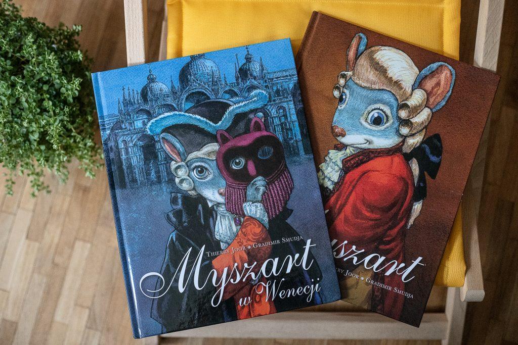 zdjęcie okładki - komiks dla dzieci - Myszart