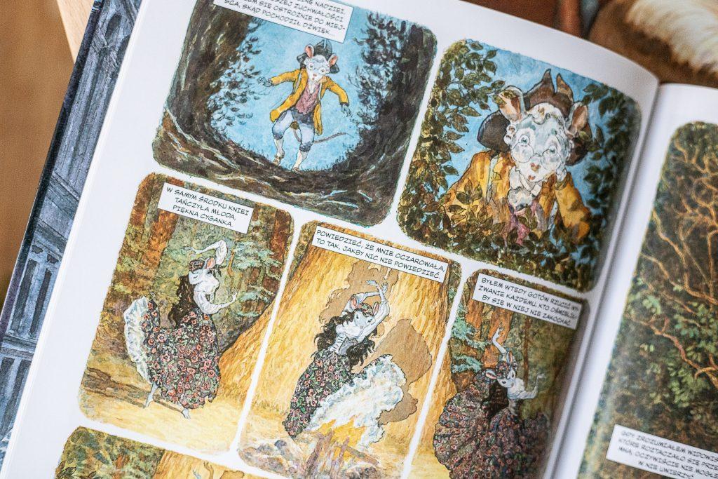 najlepsze komiksy - Myszart