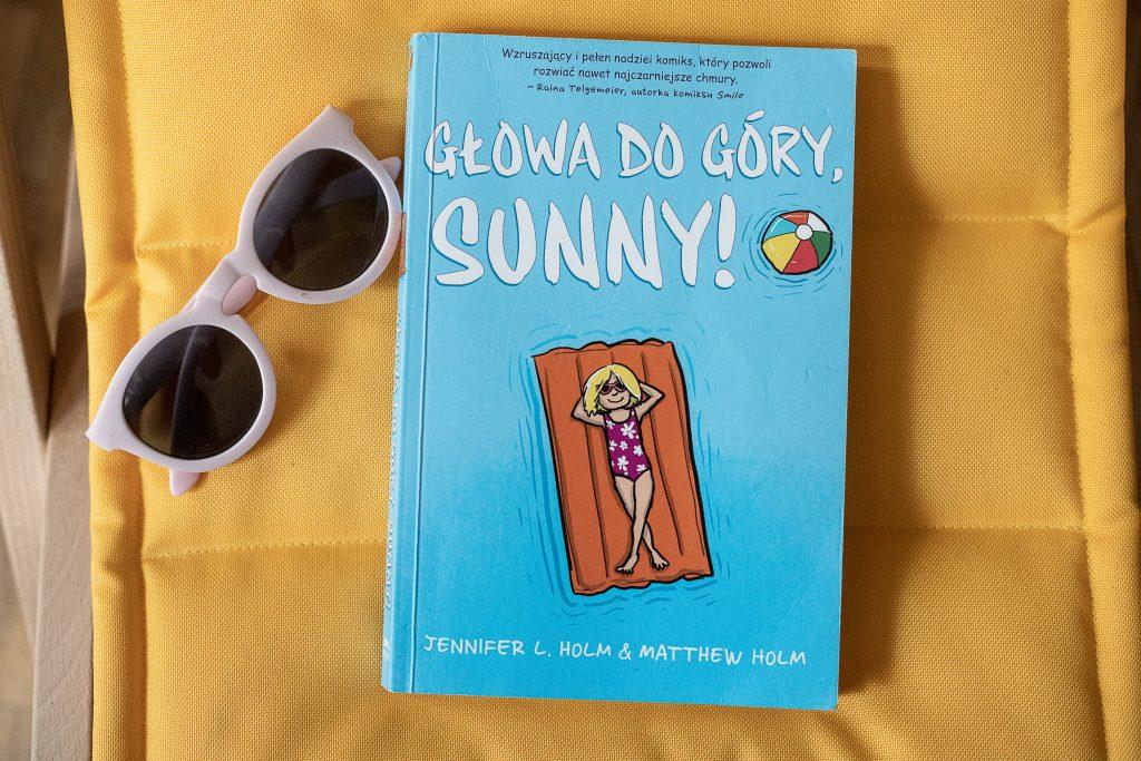 zdjęcie okładki - komiks dla dzieci - Głowa do góry Sunny