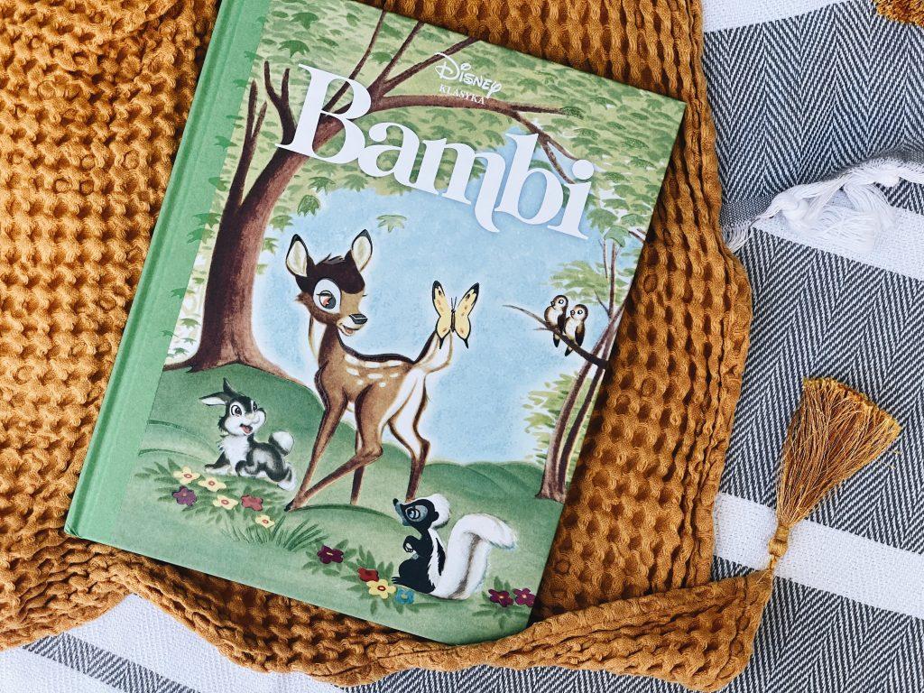 zdjęcie książki Bambi z serii Disney Nostalgia
