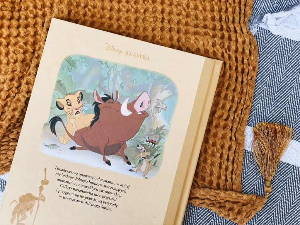 zdjęcie książki Król Lew z serii Disney Nostalgia
