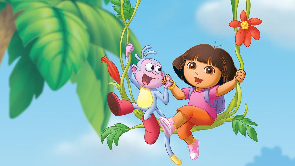 kadr z bajki Dora poznaje świat