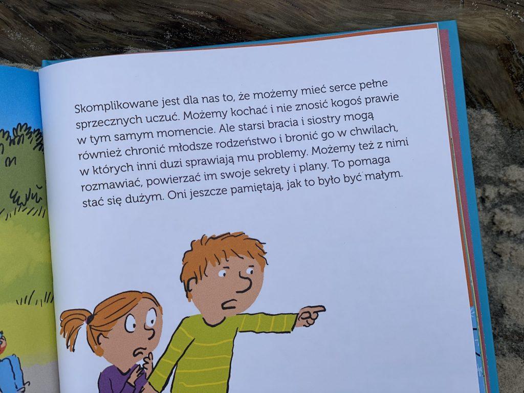 strona z ksiązki Relacje