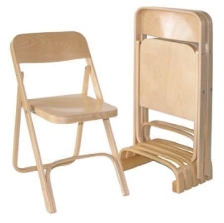 krzesła składane drewniane
