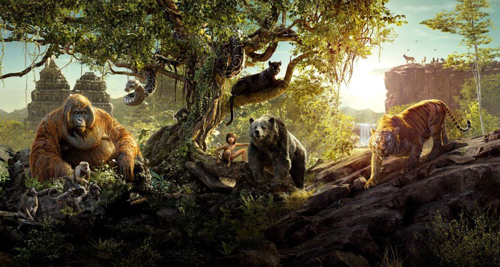 kadr z bajki Księga dżungli