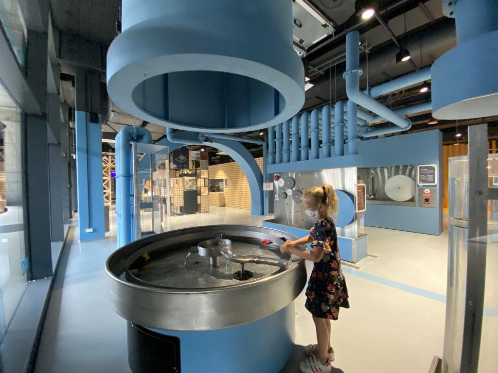 zdjęcie z wystawy głównej Epi-Centrum Nauki Białystok
