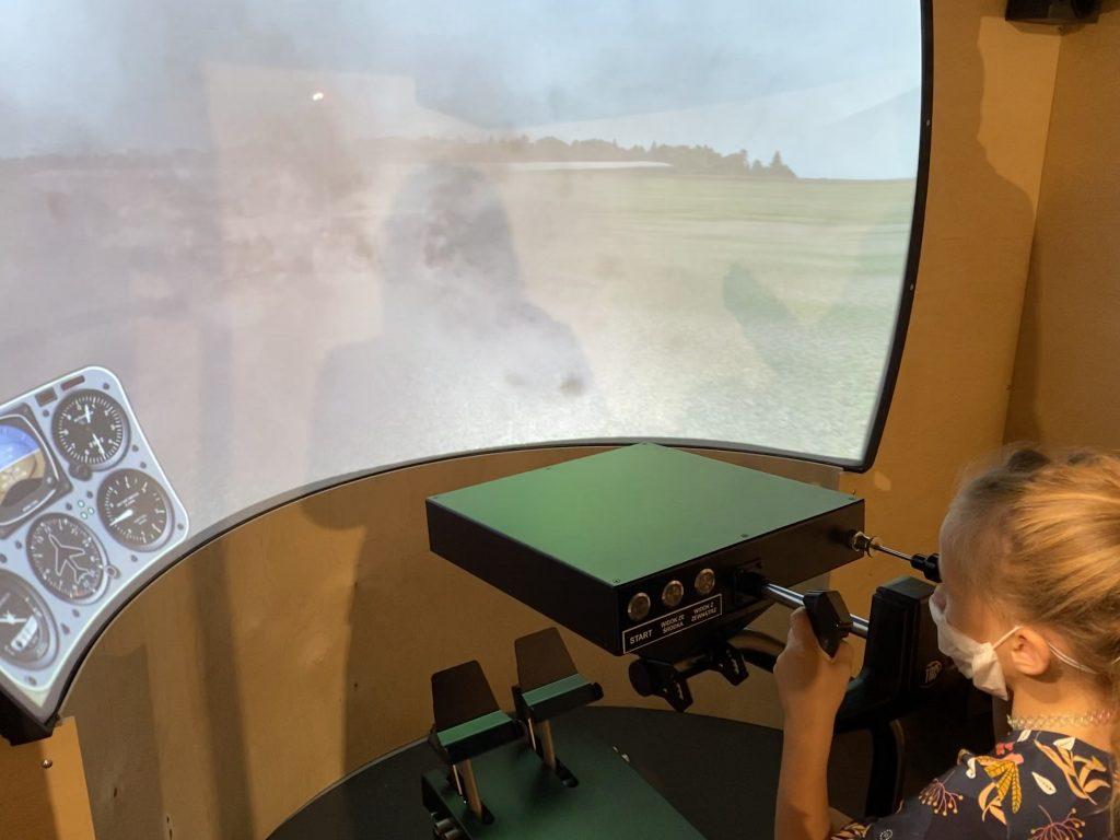 symulator lotu w Epi-Centrum Nauki Białystok