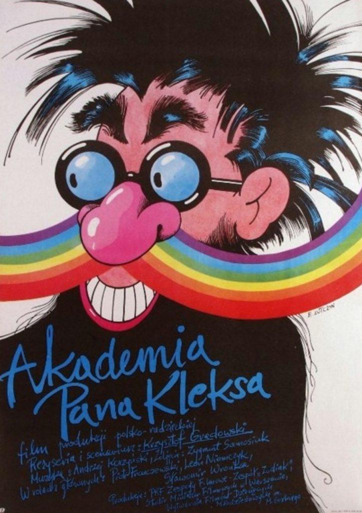plakat filmu familijnego pt. Akademia Pana Kleksa