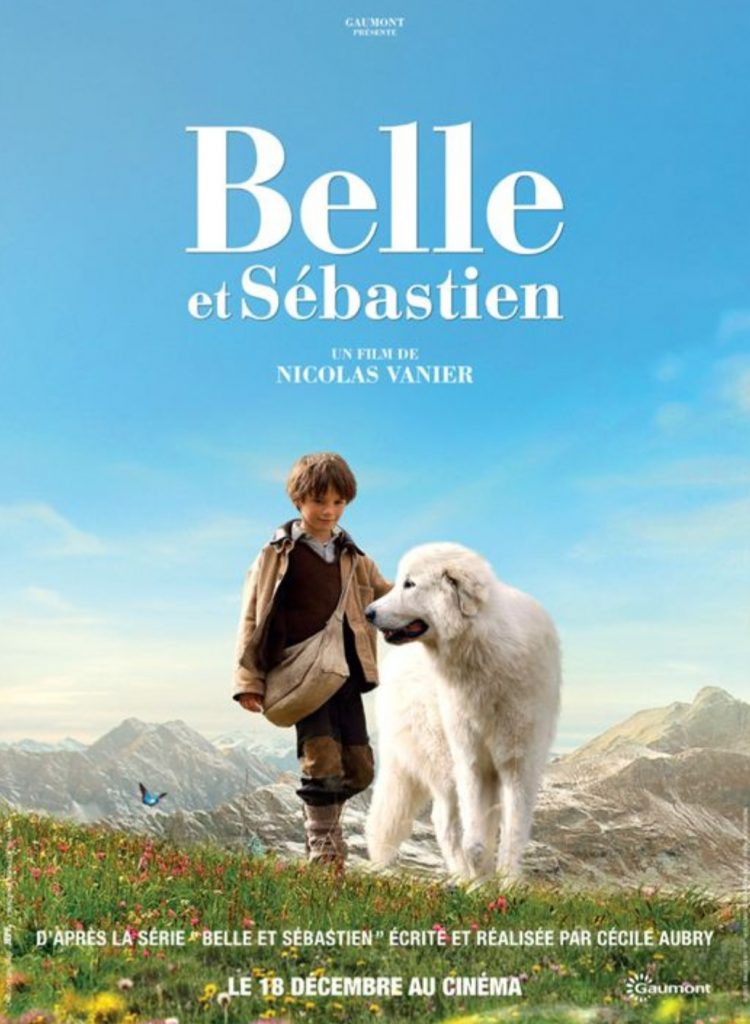 plakat filmu familijnego pt. Bella i Sebastian