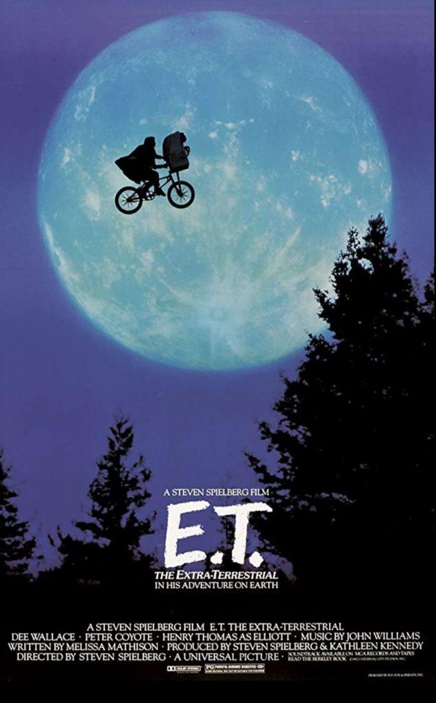 plakat filmu pt. E.T.