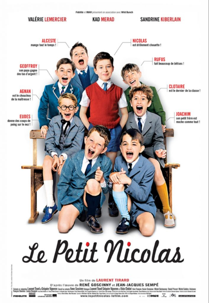 plakat filmu familijnego pt. Mikołajek
