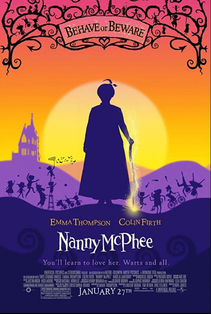 plakat filmu pt. Niania McPhee