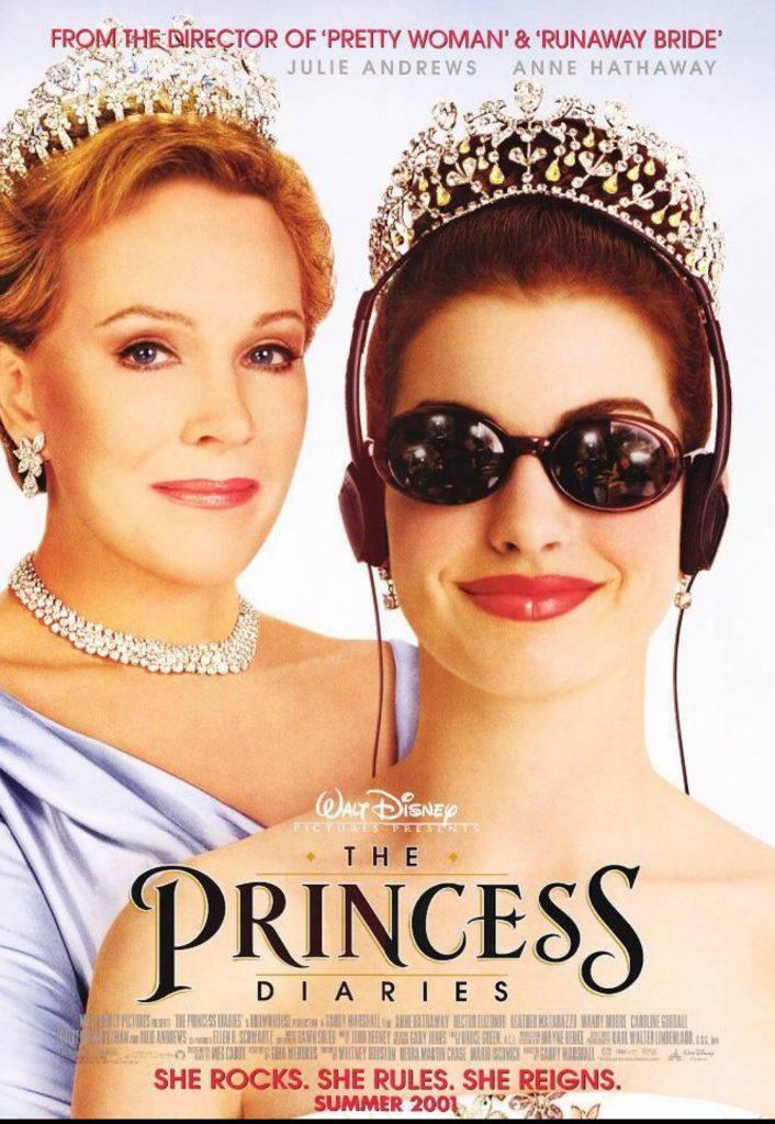 plakat filmu pt. Pamiętnik księżniczki
