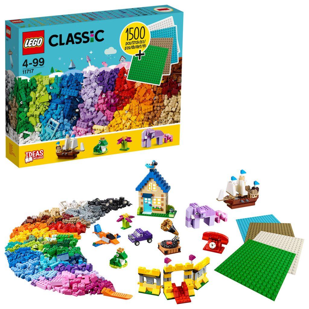 prezenty na Święta dla dzieci - zestaw LEGO CLASSIC 11717