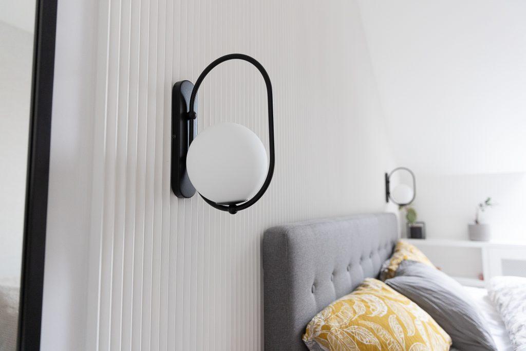 Oświetlenie sypialni - Kinkiety Ummo Koban