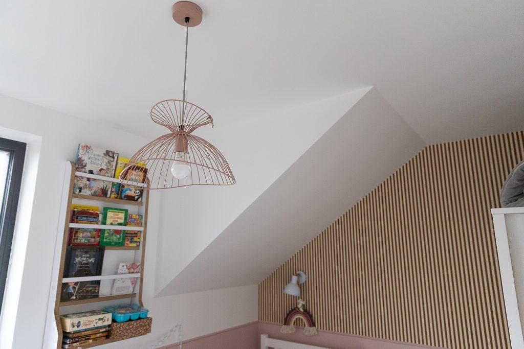 Górna lampa Jackie pink