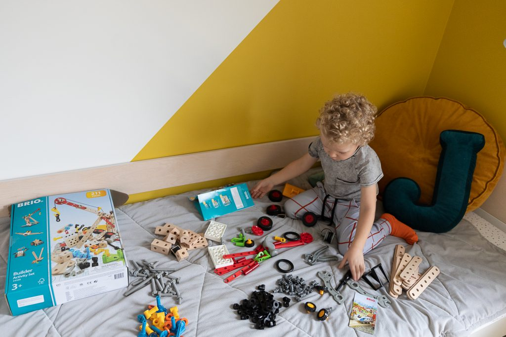 pomysły na prezent na Święta dla dzieci - zestaw klocków brio