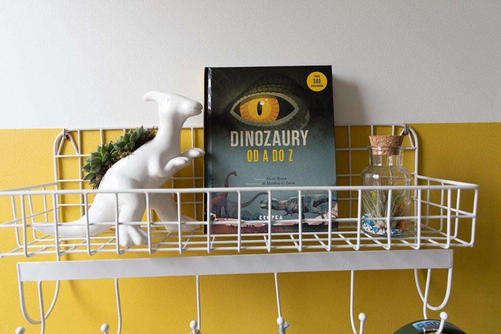 książka Dinozaury od A do Z