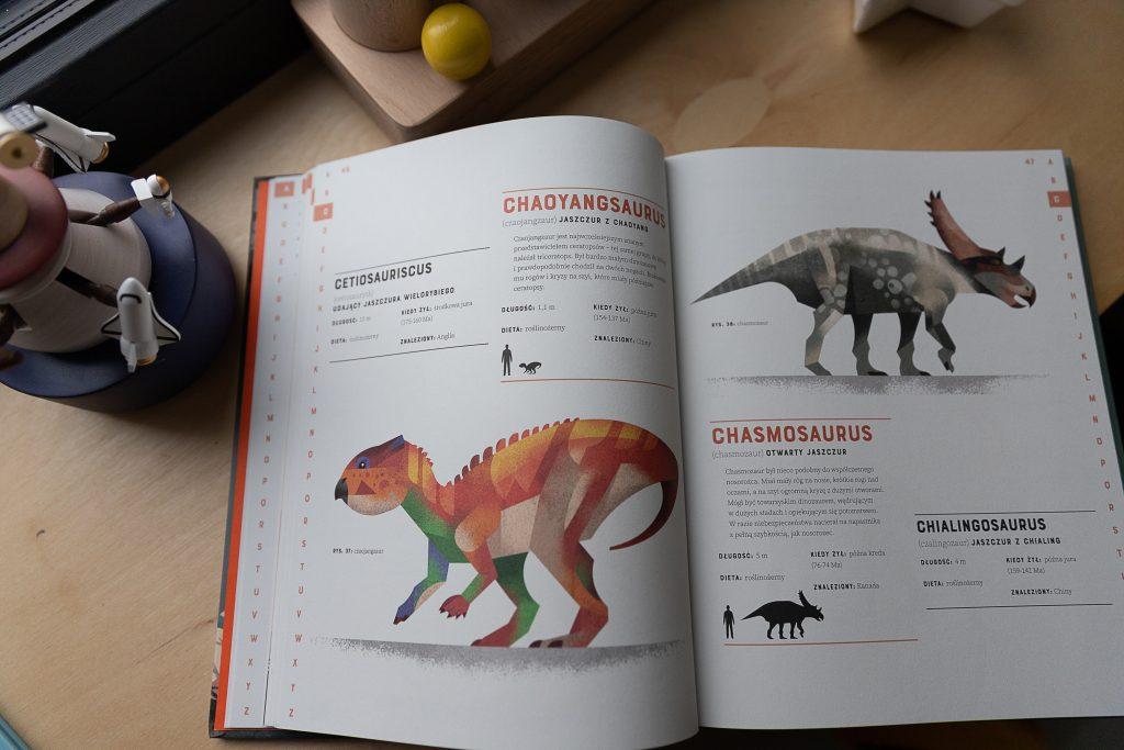 pomysły na prezent na Święta dla dzieci - książka o dinozaurach