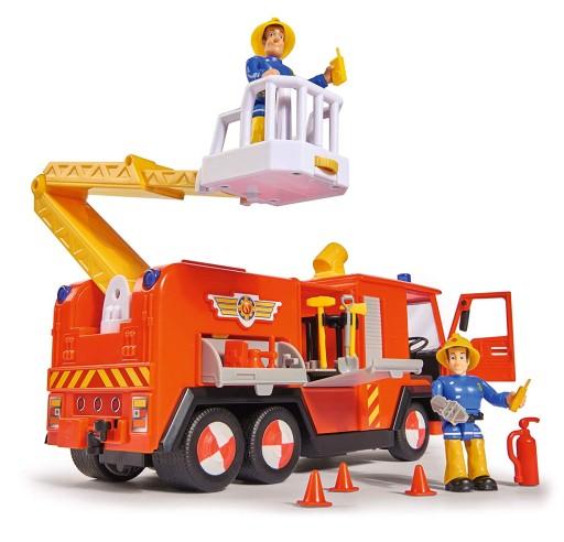 pomysły na prezent na Święta dla dzieci strażak sam i wóż strażacki