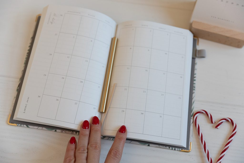 kalendarz jako prezent dla niej