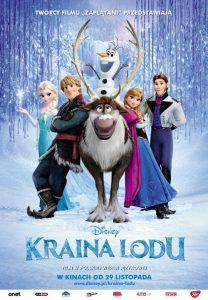 plakat filmy dla dzieci - Kraina Lodu