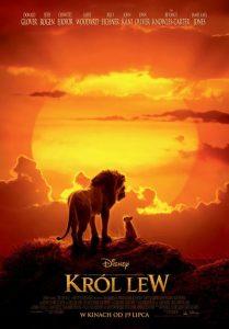 plakat filmy dla dzieci - król lew
