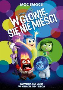 filmy dla dzieci - plakat filmu w głowie się nie mieści