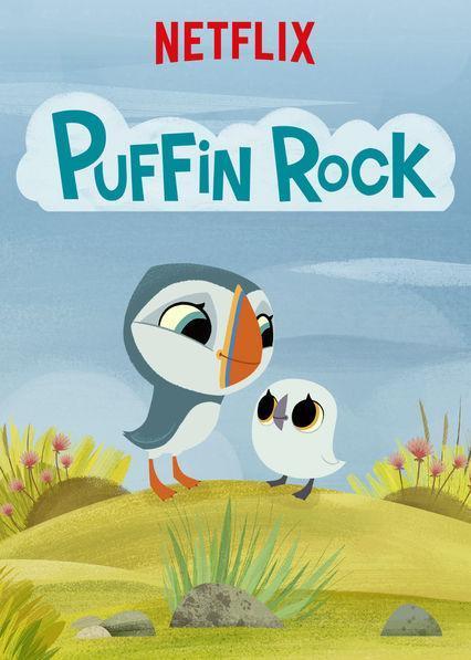 edukacyjne bajki dla dzieci - puffin rock