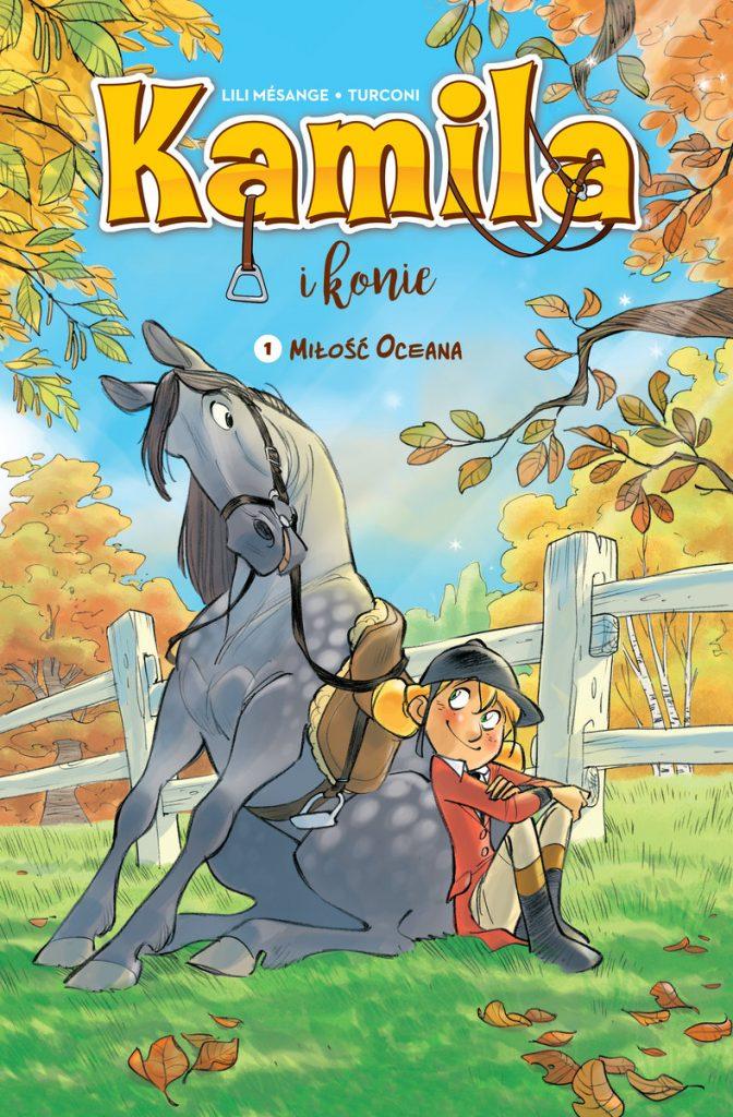 okładka komiksu kamila i konie
